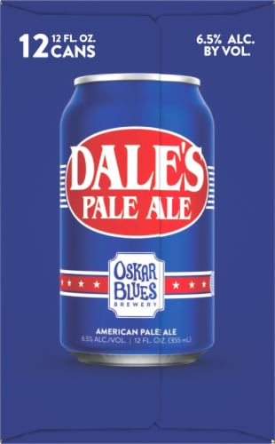 Oskar Blues Brewery Dale's Pale Ale Perspective: left