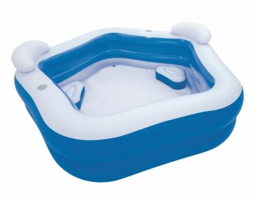 H2OGo!™ Family Fun Pool - Blue/White Perspective: left