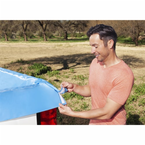 Bestway 54283E Portable Standard 5.5 Foot Payload Pickup Truck Bed Swimming Pool Perspective: left