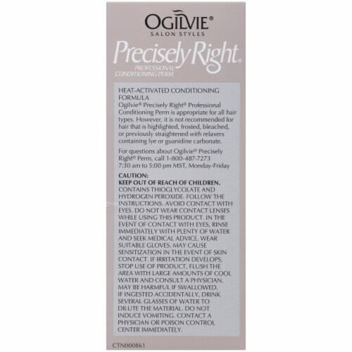 Ogilvie Precisely Right for Color-Treated Hair Professional Conditioning Perm Kit Perspective: left