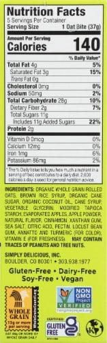 Bobo's Apple Pie Stuff'd Oat Bites Perspective: left