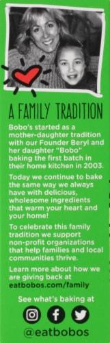 Bobo's Coconut Oat Bites Bars Perspective: left