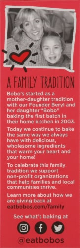Bobo's Strawberry Stuff'd Oat Bites Perspective: left