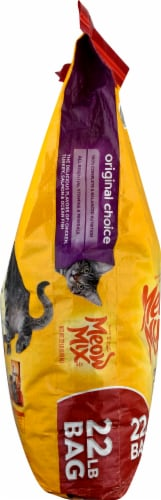 Meow Mix Original Choice Dry Cat Food Perspective: left