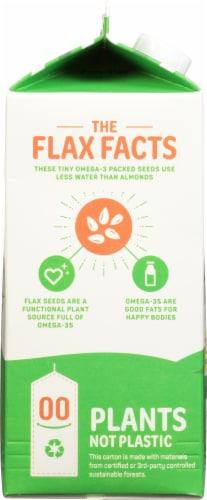 Good Karma Unsweetened Flax Milk Perspective: left