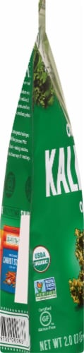 Rhythm Superfoods Organic Original Kale Chips Perspective: left