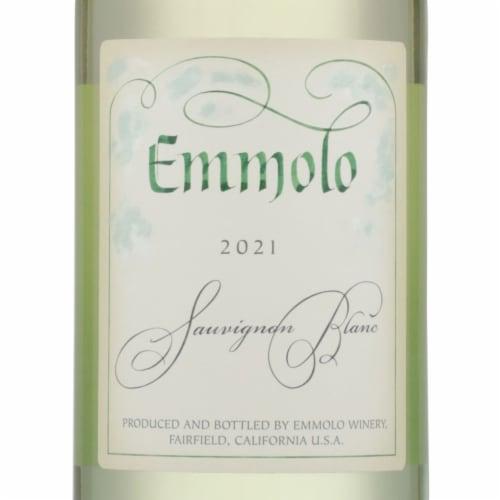 Emmolo Wines Sauvignon Blanc White Wine Perspective: left