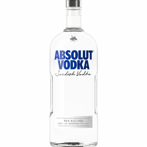 Absolut Original Vodka Perspective: left
