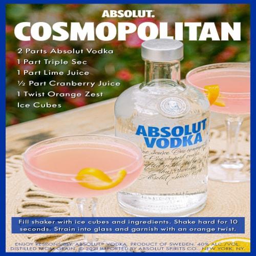 Absolut Lime Vodka Perspective: left