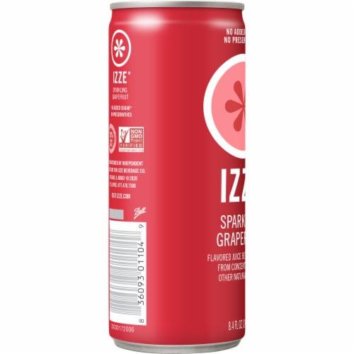 IZZE Sparkling Juice Grapefruit Flavored Juice Drink Perspective: left