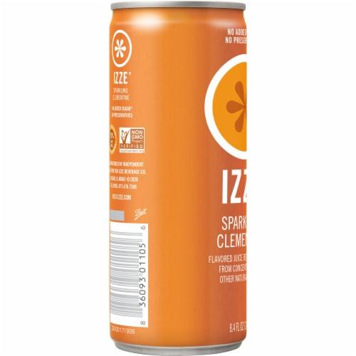 IZZE Sparkling Clementine Flavored Juice Drink Perspective: left