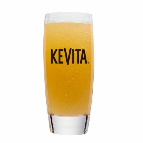 KeVita Master Brew Organic Pineapple Peach Kombucha Perspective: left