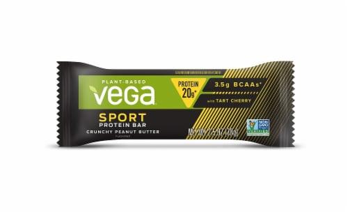 Vega Sport Crunchy Peanut Butter Protein Bar Perspective: left