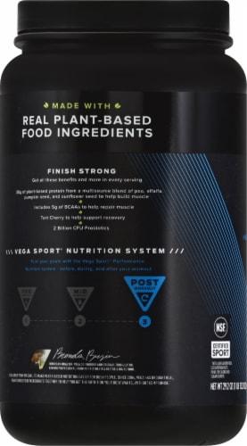 Vega Sport Vanilla Performance Protein Powder Perspective: left