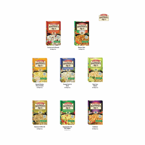 Heritage Select Basmati Rice Variety Pack Perspective: left