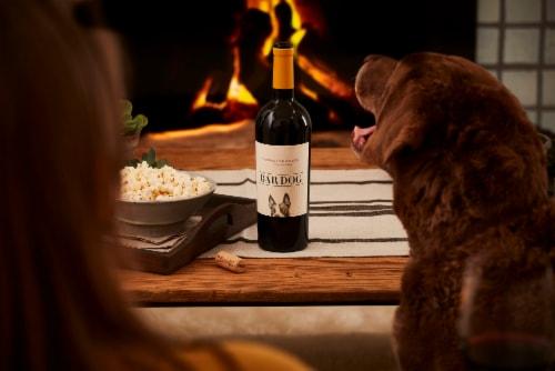 Bar Dog Cabernet Sauvignon Red Wine Perspective: left
