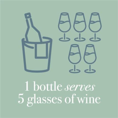Martin's Rake Sauvignon Blanc White Wine Perspective: left