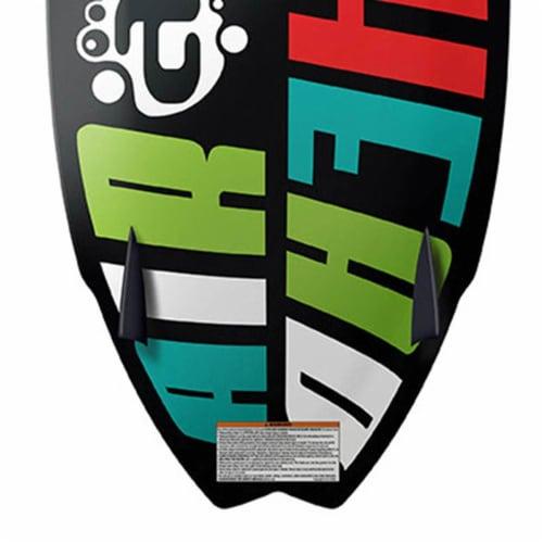 Airhead Pfish Beginner to Advanced 2 Fin Skim Style Wakesurf WakeBoard (2 Pack) Perspective: left