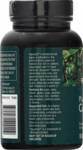 PlantFusion Vegan Plant-Based Calcium 1000mg Perspective: left