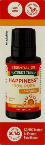 Nature's Truth  Energizing 100% Pure Essential Oil Happiness™ Perspective: left