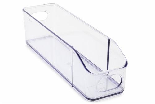 Core Kitchen Plastic Fridge Bin - Clear Perspective: left