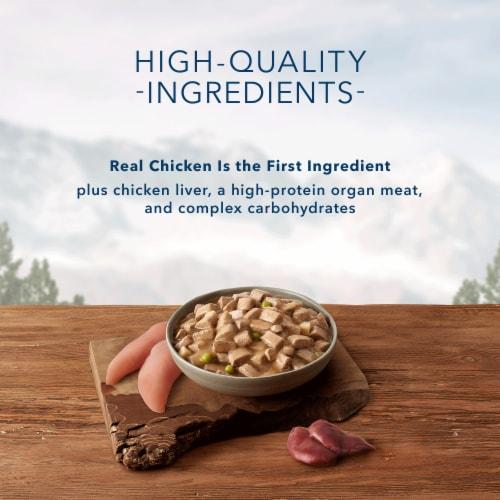Blue Wilderness Wolf Creek Stew with Chicken Wet Dog Food Perspective: left