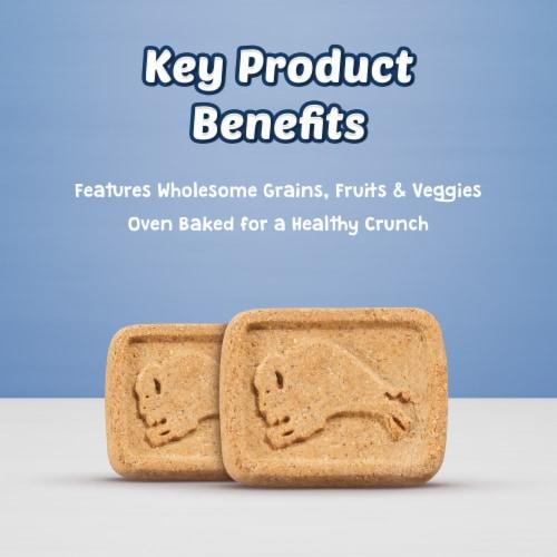 Blue Buffalo Health Bars Apples & Yogurt Natural Dog Biscuits Perspective: left