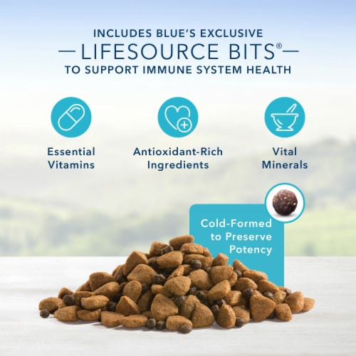Blue Buffalo Chicken and Brown Rice Recipe Life Protection Formula Large Breed Adult Dog Food Perspective: left