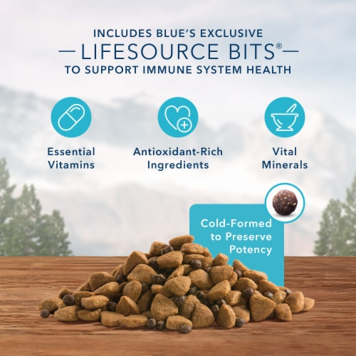 Blue Wilderness High Protein Chicken Large Breed Natural Adult Dry Dog Food Perspective: left