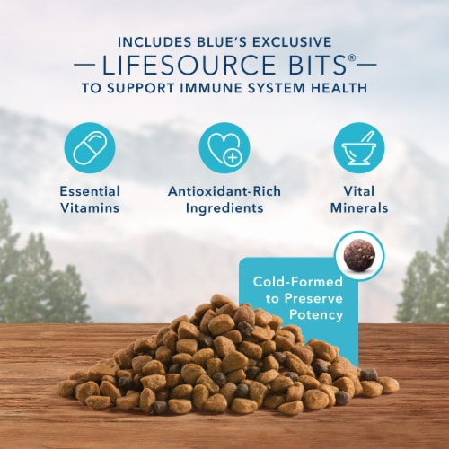 Blue Wilderness High Protein Chicken Natural Puppy Dry Dog Food Perspective: left