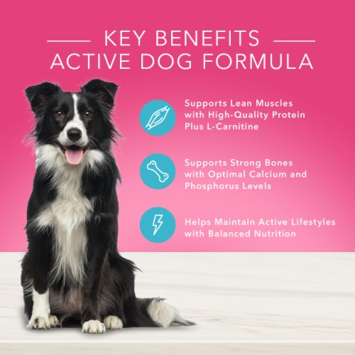 Blue Buffalo True Solutions Top Form Active Adult Dog Food Perspective: left