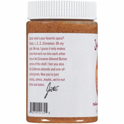 Justin's Cinnamon Almond Butter Perspective: left