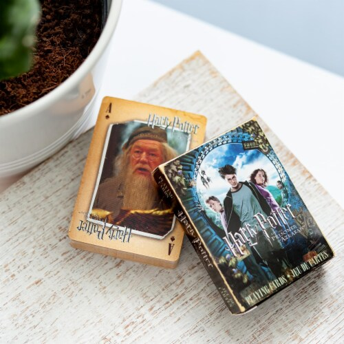 Harry Potter And The Prisoner Of Azkaban Playing Cards | Standard 52 Card Set Perspective: left