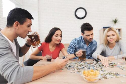 SpongeBob SquarePants 500 Piece Jigsaw Puzzle Perspective: left