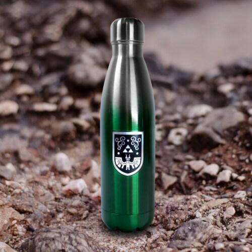 Legend of Zelda 17oz Steel Water Bottle Perspective: left
