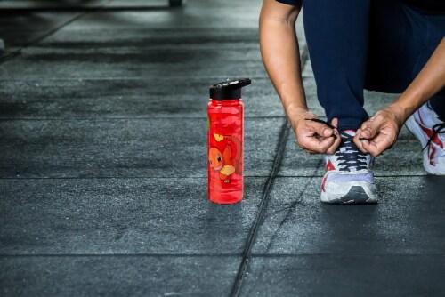 Pokemon Charmander 16oz Water Bottle - BPA-Free Reusable Drinking Bottles Perspective: left