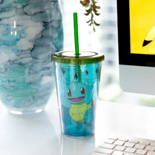 Pokemon Squirtle 18oz Carnival Cup Perspective: left