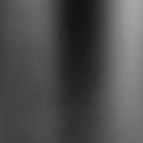 mDesign Metal 3-Tier Vertical Corner Shelf Unit for Bathroom Storage - Black Perspective: left