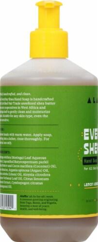 Alaffia Everyday Shea Lemon Verbena Hand Soap Perspective: left