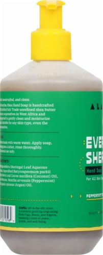 Alaffia Everyday Shea Peppermint Tingle Hand Soap Perspective: left