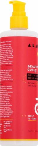 Alaffia Beautiful Curls Curl Activating Cream Shampoo Perspective: left
