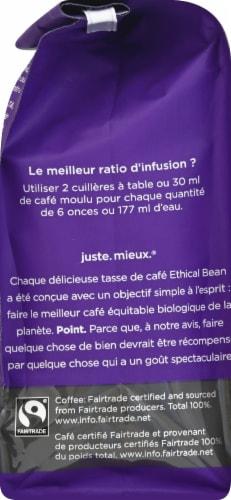 Ethical Bean Coffee Lush Medium Dark Roast Ground Arabica Coffee Perspective: left