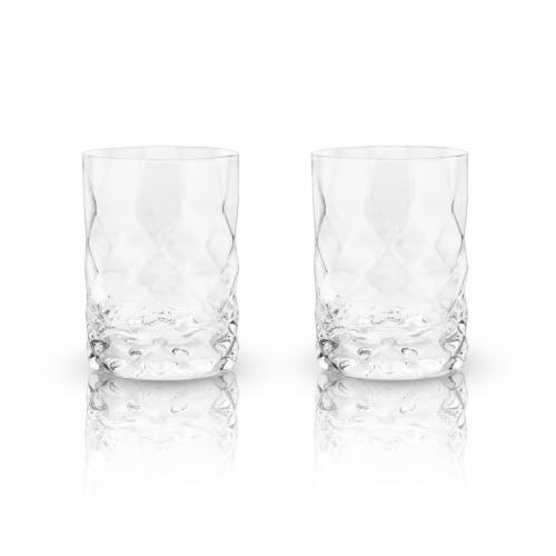 Gem Crystal Tumblers by Viski® Perspective: left