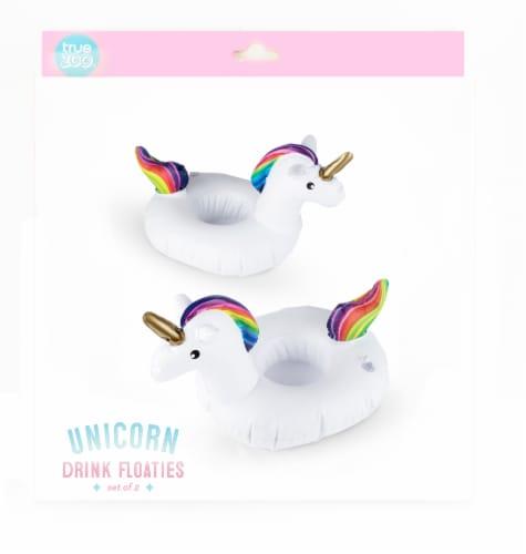 Unicorn Drink Floaties (set of 2) by TrueZoo Perspective: left