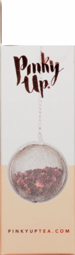 True Fabrications Small Stainless Steel Tea Infuser Ball Perspective: left
