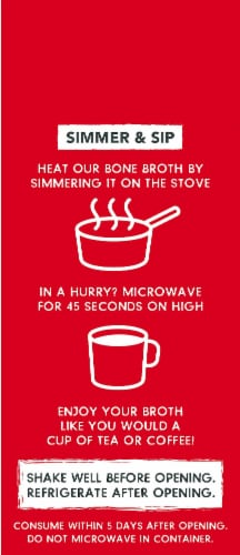 SunFed Ranch Natural Beef Bone Broth Perspective: left