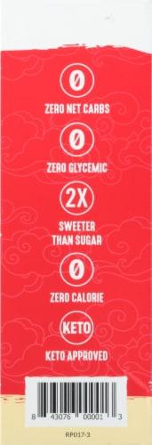 Lakanto Golden Monkfruit Sweetener Packets Perspective: left
