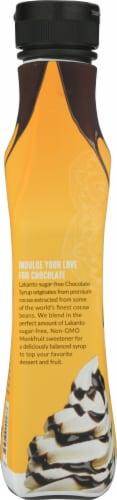 Lakanto Sugar Free Monkfruit Sweetened Chocolate Syrup Perspective: left