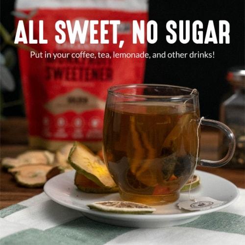 Lakanto Golden Monkfruit Sweetener - 1:1 Raw Cane Sugar Substitute (3 lb) Perspective: left