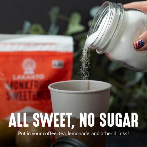 Lakanto Classic Monkfruit Sweetener - 1:1 White Sugar Substitute (3 lb) Perspective: left